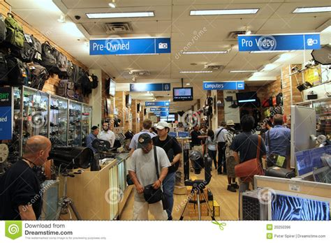 Famous Manhattan Camera Store Editorial Photo Image
