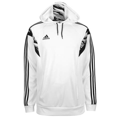 adidas sweater black and white adidas 39 s speedkick condivo hoodie white black