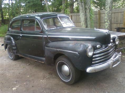 1946 Ford Flathead V8 2 Door Sedan Running Driving Car Hot