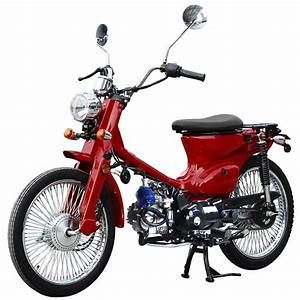 125cc Rtx Scooter Moped With Manual Transmission  Classic