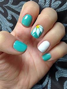 15 Teal Nail Designs Youu0026#39;ll Fall In Love With u2013 NailDesignCode
