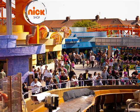 nickelodeon land theme park  blackpool sightseeing