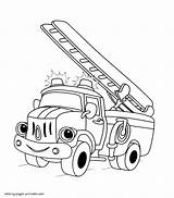 Coloring Fire Truck Pages Printable Trucks Drawing Toy Getdrawings Cars Boys sketch template