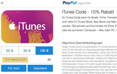Itunes Karte Kaufen Paypal