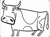 Coloring Cow Plus Google sketch template