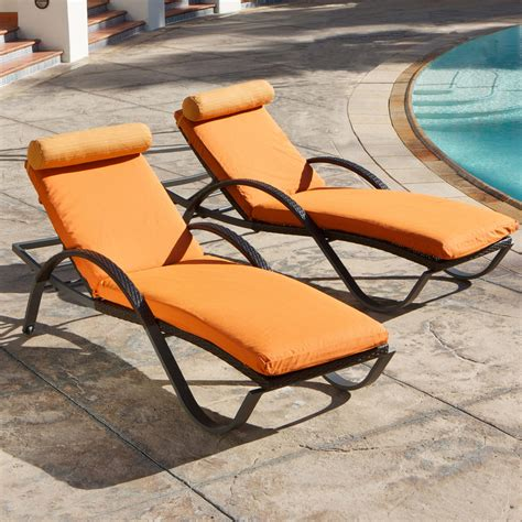 chaises orange outdoor chaise lounge cool outdoor chaise lounges shop