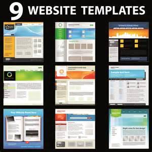 web design free 15 vector web design templates images header design template free website templates design