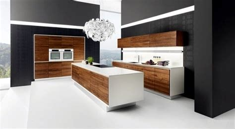 20 ideas for wood kitchen with modern design and warm