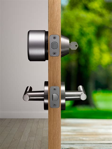 how to lock a door without a lock gigaom august is a fancy lock that could make you ditch