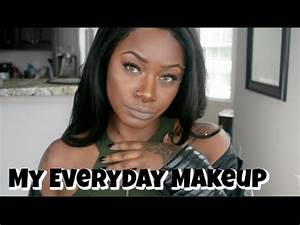 Everyday makeup tutorial WOC