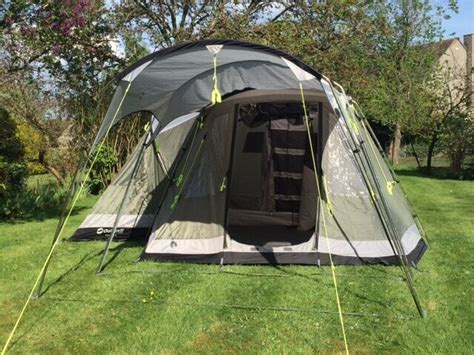 Outwell Montana 4 Family Tent Plus Extension Canopy