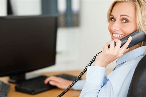 Office Space Answering Phone by Office Phone Call Gallery