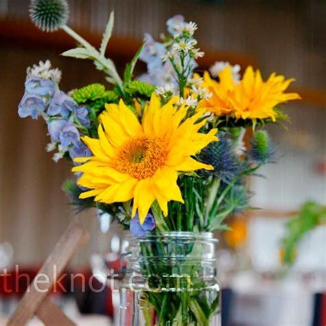 images  wildflower wedding ideas mason jars