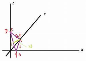Ortsvektor Berechnen : berechnen sie den einheitsvektor n senkrecht auf dem dreieck abc a 1 0 0 b 0 2 0 und c 0 0 3 ~ Themetempest.com Abrechnung