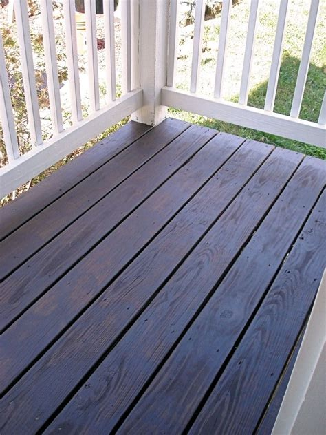 behrs cordovan brown  solid stain     ide porch