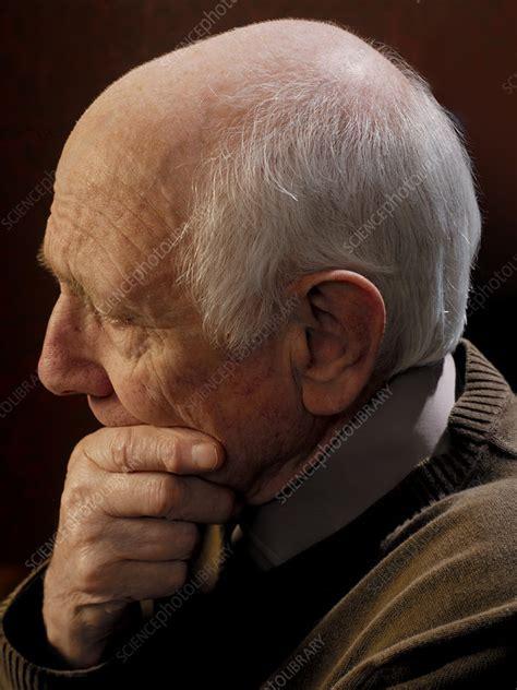Depressed Man Stock Image M2451057 Science Photo