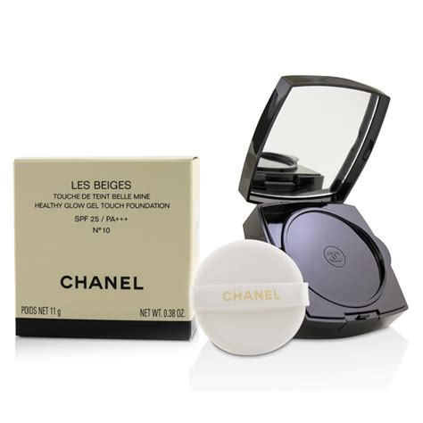 chanel les beiges healthy glow gel touch foundation spf    beauty club shop makeup