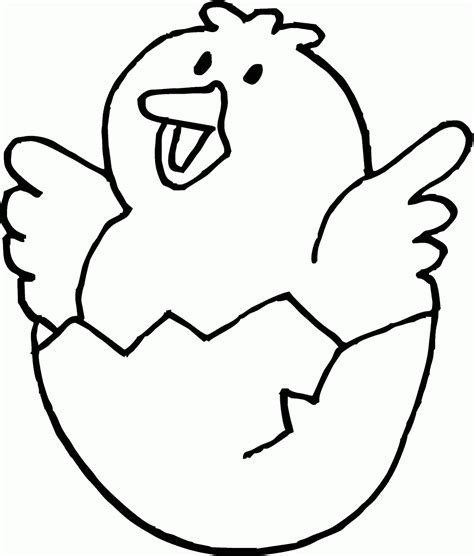 mewarnai gambar anak ayam yang baru menetas lucu loh