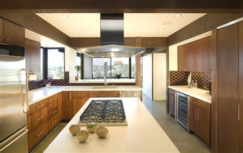 mid century modern kitchen update modern kitchen los