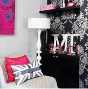 12 Cool Ideas For Black And Pink Teen Girl S Bedroom Teenage Girl Bedroom Ideas 31 Girl Bedroom Photo HOUSE Large Print Bedroom Teenage Girls Bedroom Ideas Teenage Girls Rooms Inspiration 55 Design Ideas