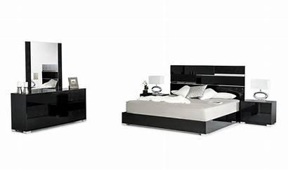 Bedroom Modern Italian Ancona Bed Modrest Dresser