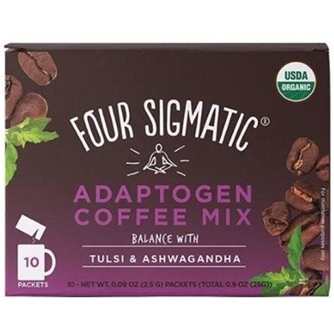 Buy online in canada at description box of 10 single servings four sigmatic adaptogen coffee with ashwagandha. Four Sigmatic Adaptogen Coffee, Tulsi & Ashwagandha 10x2.5g | BuyWell.com - Canada's online ...