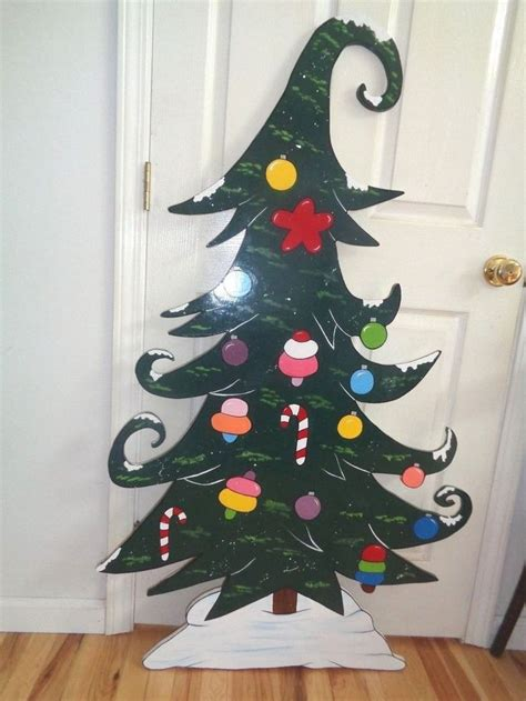 grinch whoville tree christmas yard art