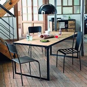 Maison Du Monde Essen : esstisch im industrial stil aus docks office esstisch tisch esszimmer ~ Buech-reservation.com Haus und Dekorationen