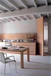 Cuisine En Bois Brut : une cuisine en bois brut c t ~ Teatrodelosmanantiales.com Idées de Décoration