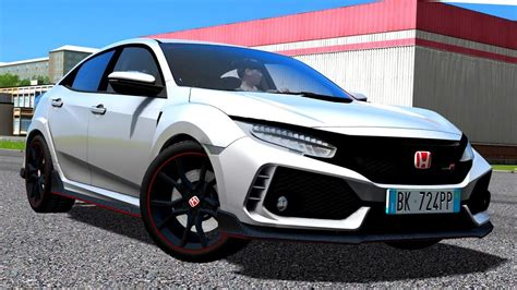 City Car Driving 1.5.5 Honda Civic Type R 2018