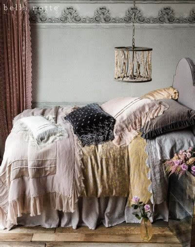 Cottage Chic Store by Cottage Chic Bedding Notte Linens Pom Pom At