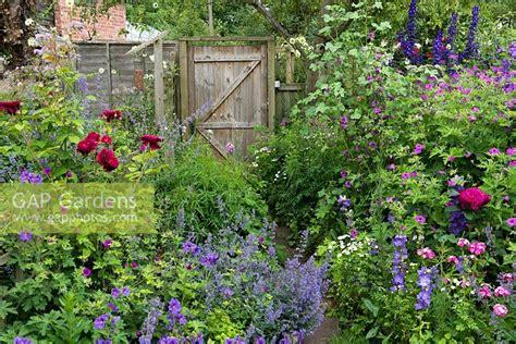 gap gardens  cottage garden border planted  hardy