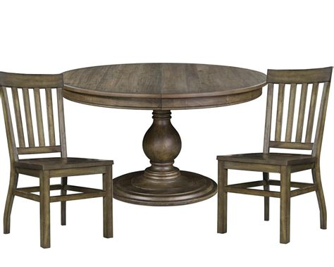 Dining Set With Round Table Karlin By Magnussen Mgd247122set