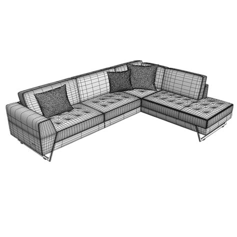 sofa canape roche bobois satelis canape sofa and armchair free 3d