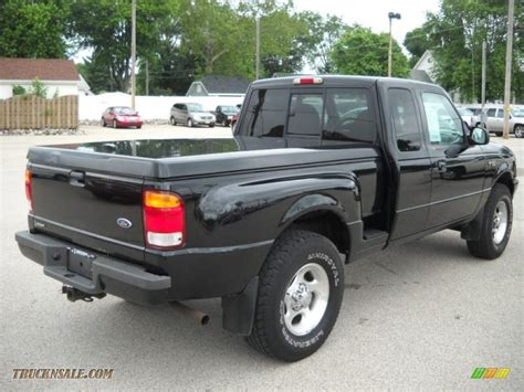 1999 ford ranger xlt extended cab 4x4 in black clearcoat photo 7 a72438 truck n sale