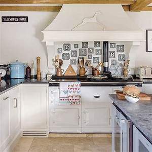1001 idees pour amenager une cuisine campagne chic charmante for Idee deco cuisine avec deco cuisine grise