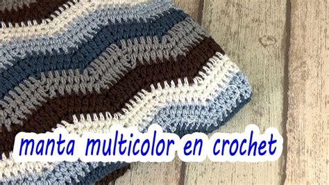 Como Hacer Manta En Crochet