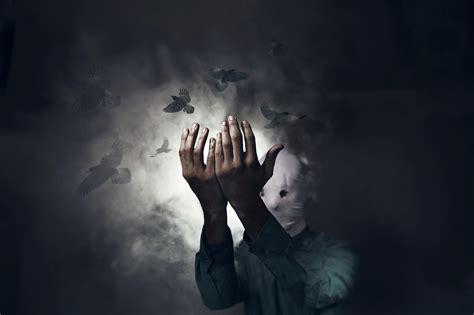 wallpaper birds hands night sky photography mask