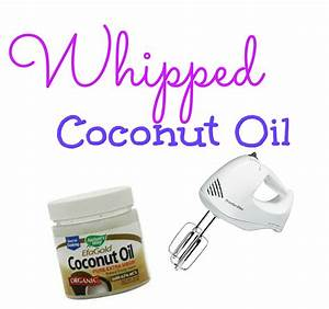 Natural Hair Whipped Coconut Oil YouTube