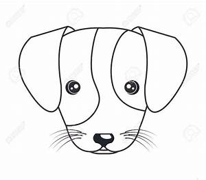 Puppy Dog Face Drawing at GetDrawings.com | Free for ...