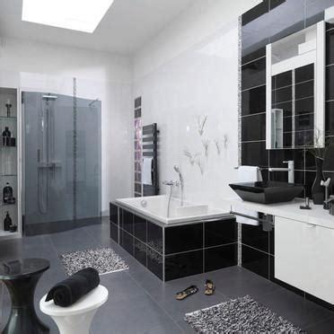 d馗oration cuisine et salle de bain décoration salle de bain noir