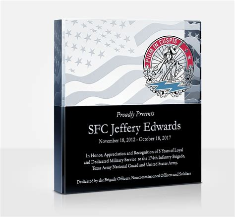military appreciation plaques  wording samples diy awards