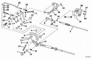 Evinrude Throttle Linkage Parts For 1997 50hp E50tleuc