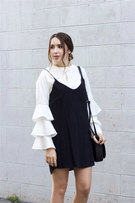 BLACK SLIP DRESS | Elements of Ellis