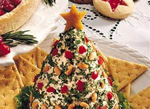 holiday tree shaped cheese ball recipe pinterest christmas trees cilantro and red peppers