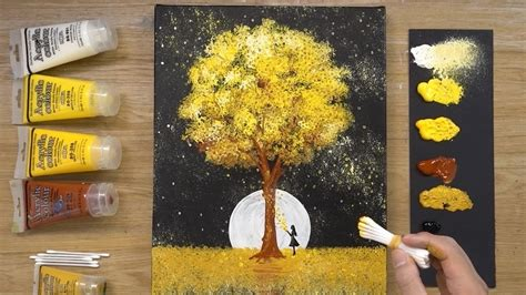 Two ways to prepare the unstretched canvas for framing. Black Canvas - Aluminum Painting Technique - How to paint acrylics - YouTube