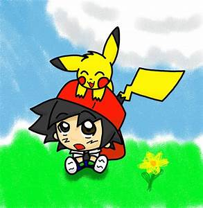 Ash and Pikachu by Javen-Ace on DeviantArt