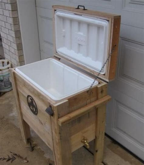 17 best images about cooler boxes on wooden