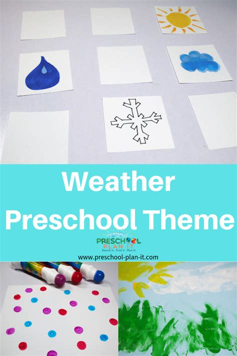 weather theme for preschool 794 | weather theme