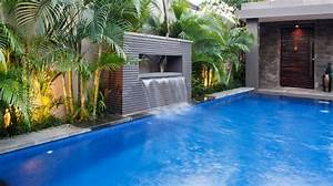 Waterfalls For Inground Pools Pool Design Ideas